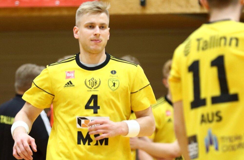 Eesti koondislane Robin Oberg sai kohtumises HC Tallinn – Viljandi HC ühena neljast pallurist kirja kaheksa tabamust.