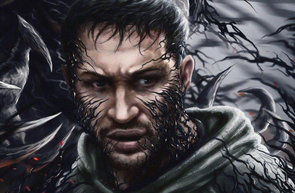 """Tom Hardy superkangelasefilm """"Venom"""" lükkus järgmisesse aastasse"""
