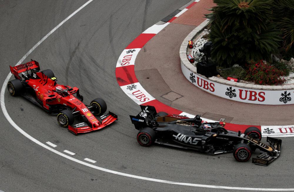 Romain Grosjean ja Charles Leclerc