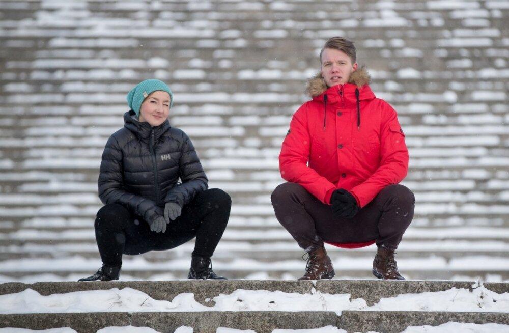 Katse võidujoped: naiste sulejope Helly Hansenilt ja meeste parka Quiksilverilt