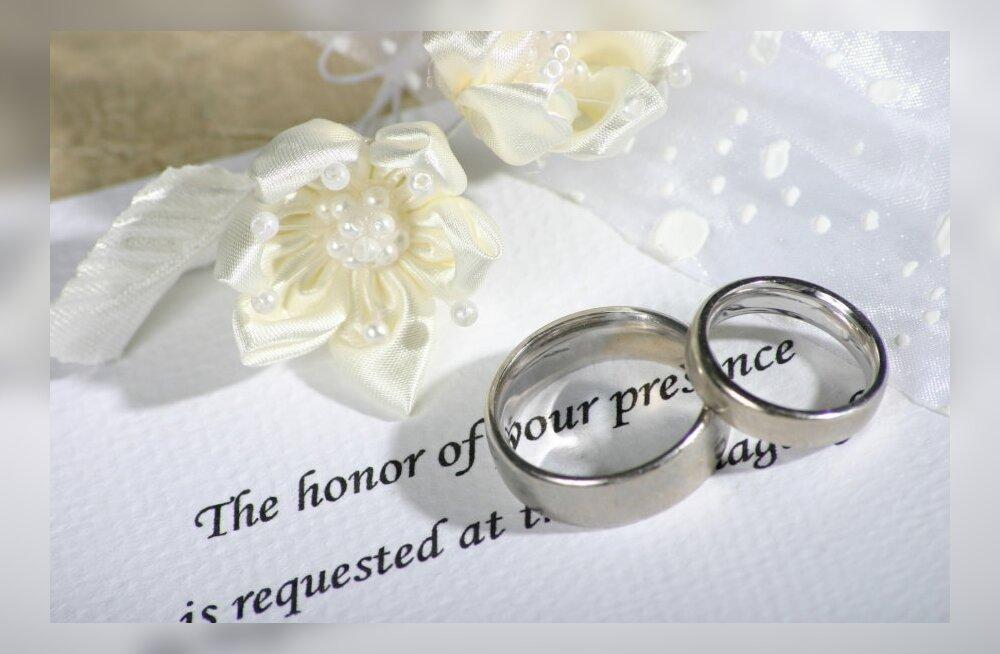 В июле Таллиннский ЗАГС регистрировал свыше 20 браков в день