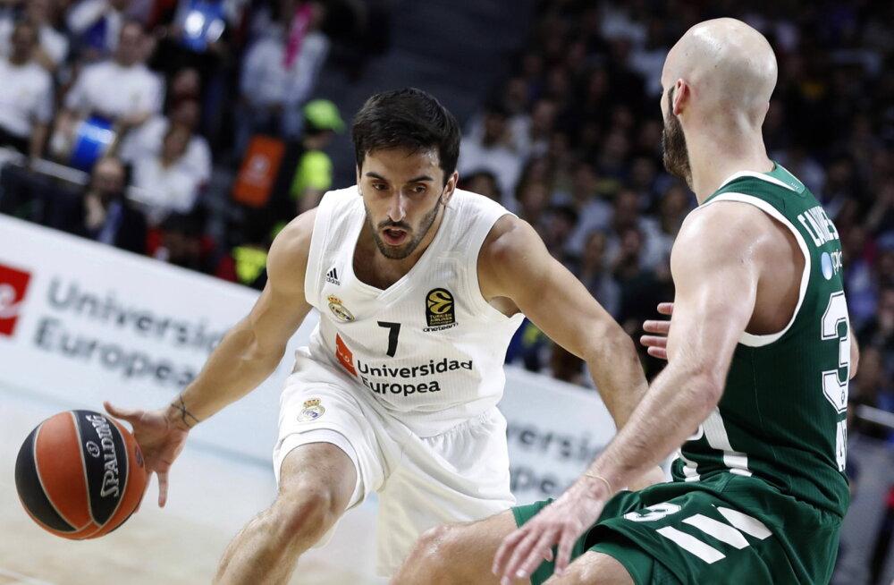 Euroliiga: Anadolu Efes ja Madridi Real haarasid veerandfinaalides ohjad