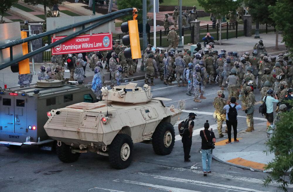 CNN: Pentagonis tuntakse Trumpi sõjaväe tänavale toomise plaanide üle sügavat muret
