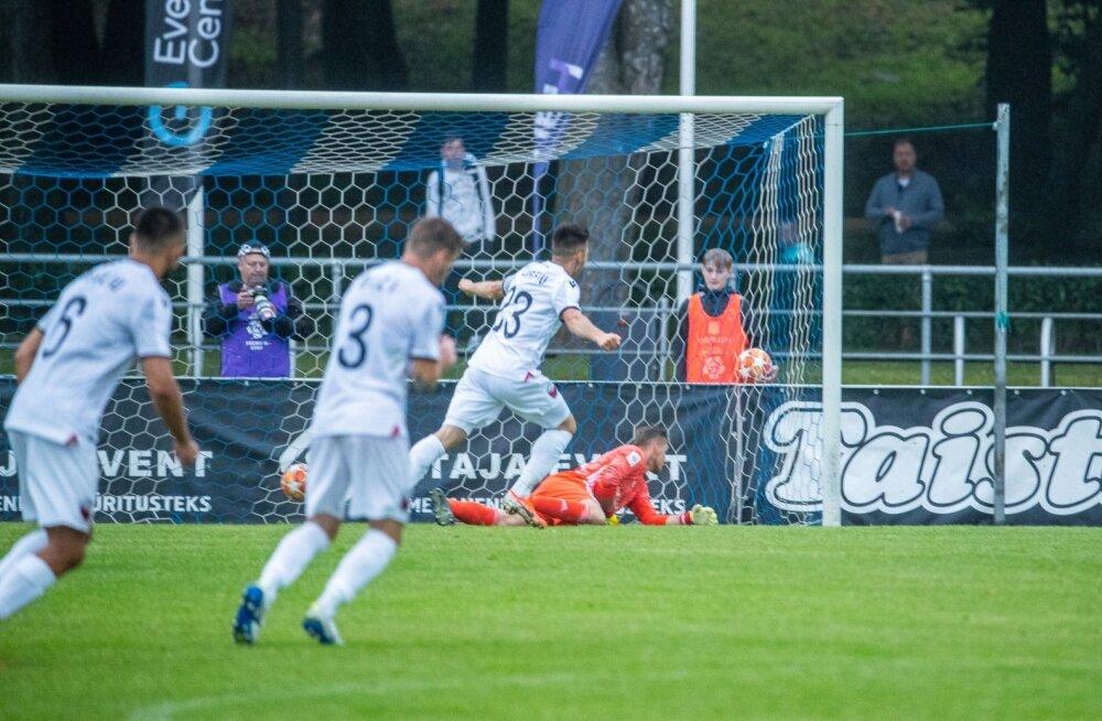 UEFA Meistrite liiga 1. eelringi mäng Nõmme Kalju - Shkendija
