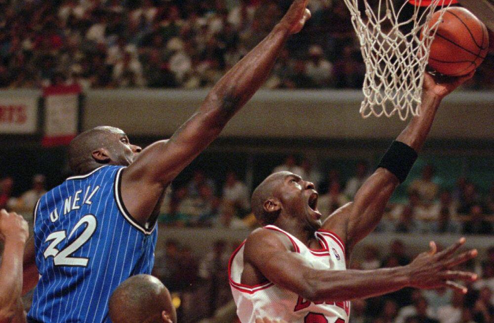 Michael Jordan ja Shaquille O`Neal