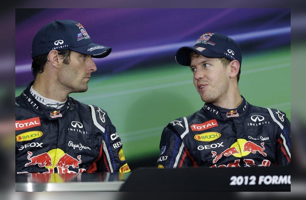 Webber ja Vettel