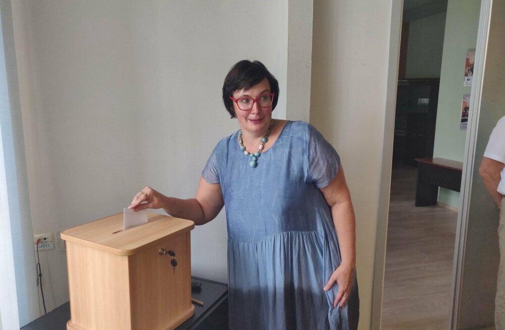 Narva Linnavolikogu esimehe valimine.