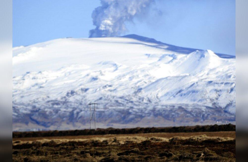 Islandi vulkaani tuhapilv esialgu Eestit ei ohusta
