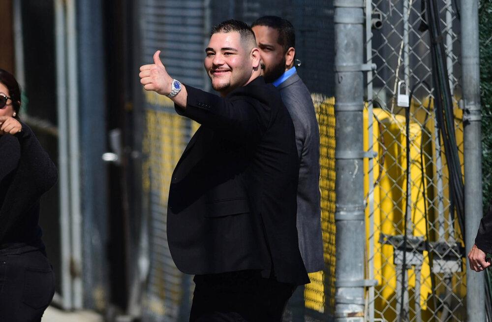 Poksimaailma üllatanud Ruiz avaldas tingimuse, millega ta oleks nõus rematši Inglismaal pidama