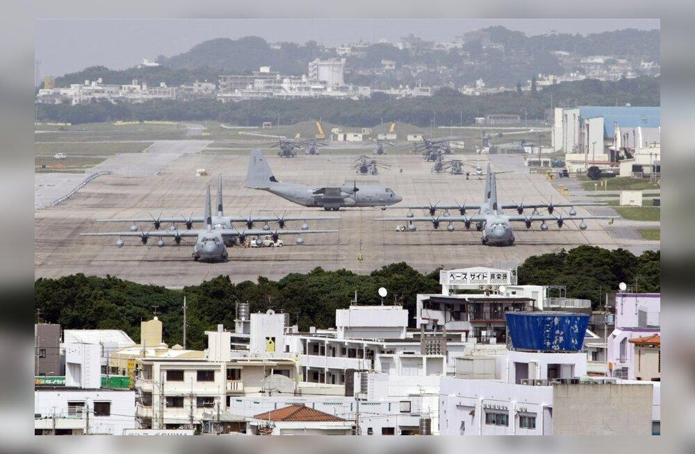 Põhja-Korea ähvardas rünnata USA sõjaväebaase Jaapanis ja Guamil