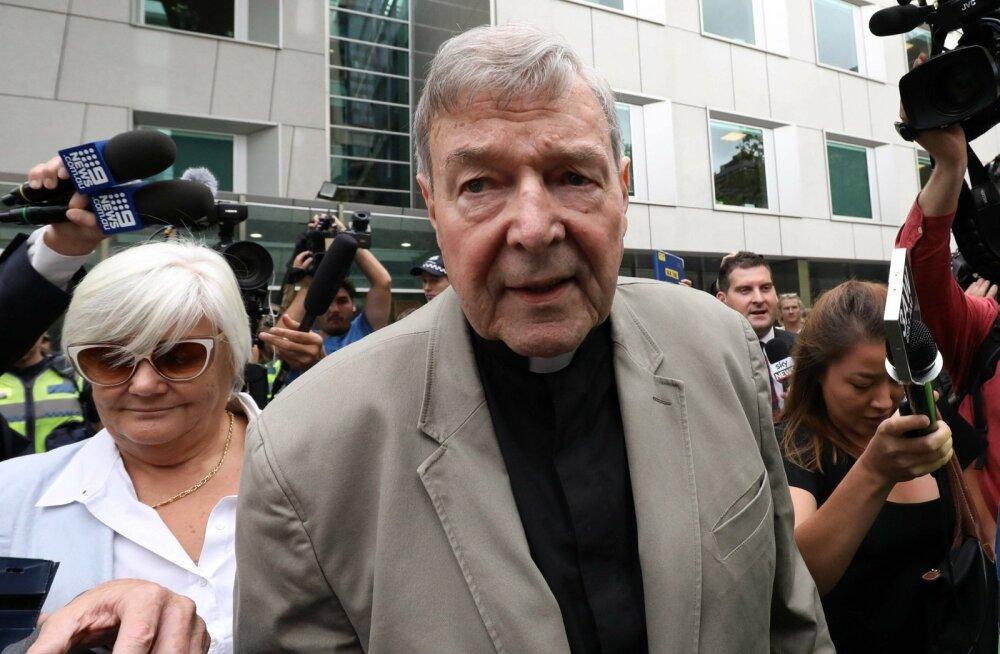Austraalias mõisteti Vatikani endine varahoidja, kardinal George Pell süüdi laste seksuaalses kuritarvitamises