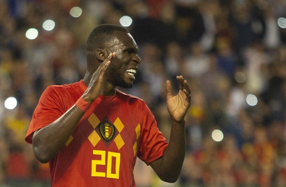 """Belgia treener pidi MM-i lennukist maha jätma Crystal Palace'i ründaja. """"See oli mu elu raskeim otsus"""""""