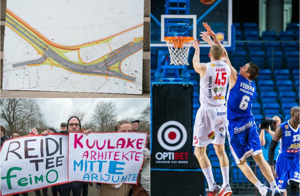 HOMMIKU-UUDISED: Reidi tee projekt paiskab õhku mitmeid küsimusi, täna toimub esimene korvpalli meistriliiga medalimäng