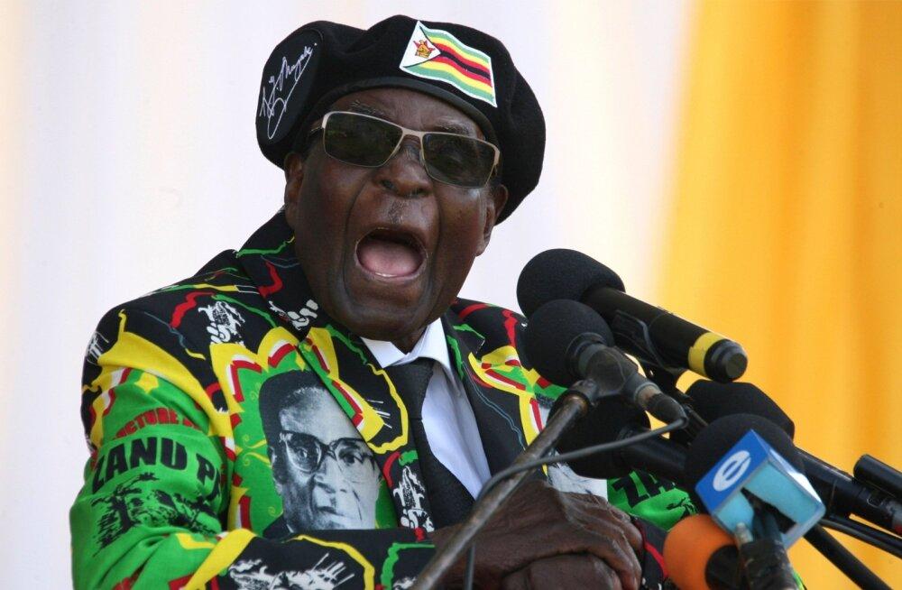 Robert Mugabe suutis Zimbabwet valitseda 37 aastat, hoolimata riiki tabanud majanduslikust kollapsist ja pidevalt lõõmanud teravatest sisevastuoludest.