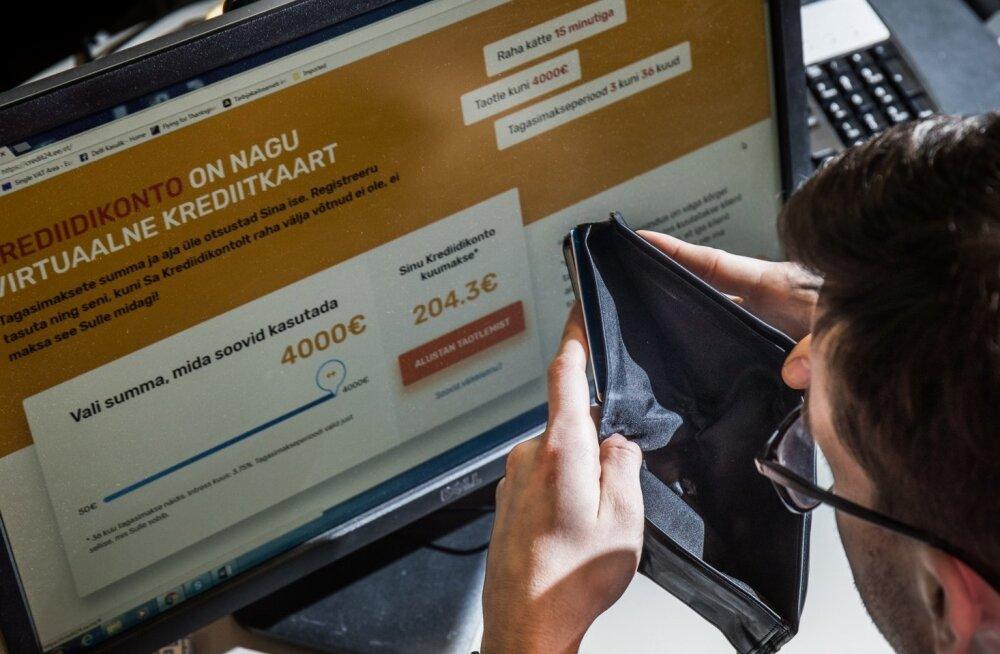 Kurb tõdemus. Laenukontorid eksivad liiga tihti tarbija krediidivõimelisuse hindamisel