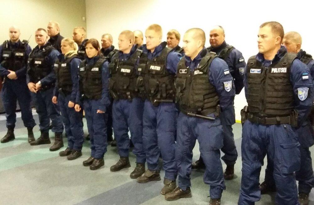 Politsei missiooniüksus ESTPOL-2 lähetati täna Sloveeniasse