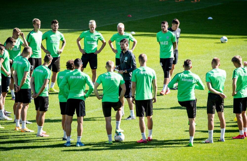 FC Flora abvatud treening ja pressikonverents
