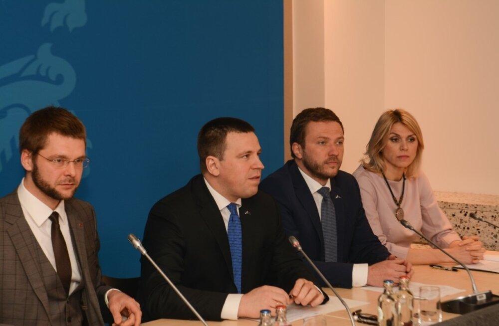 Valitsuse pressikonverents Brüsselis