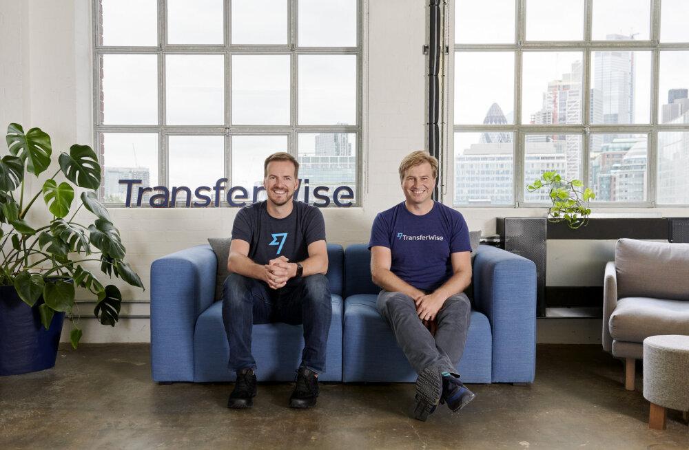 TransferWise'i väärtus kasvab 5 miljardini