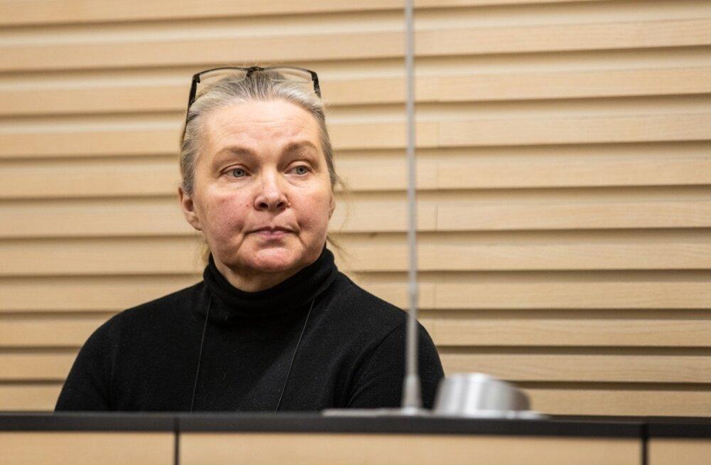 Petturist kinnisvaramaakler Natalja Jazõkova Harju maakohtus