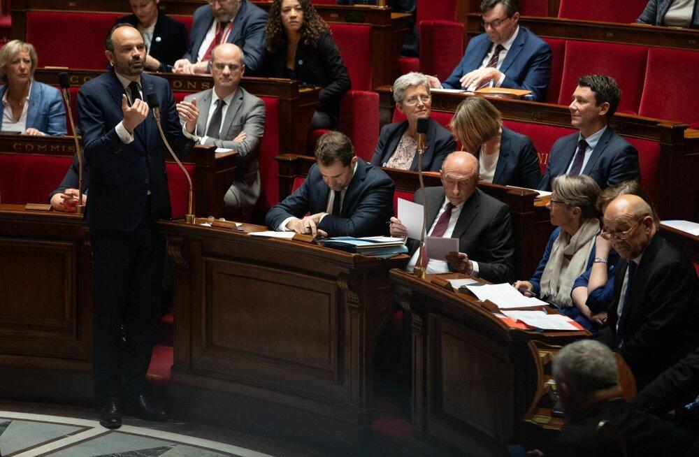 Prantsusmaa parlamendi alamkoda kiitis heaks karmima immigratsiooniseaduse eelnõu
