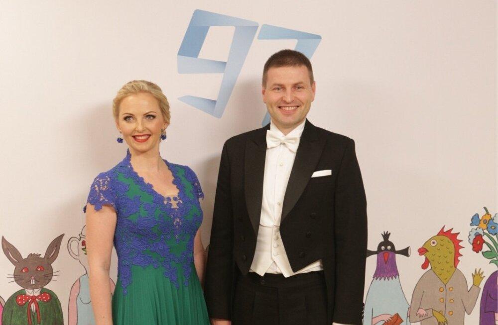 Siseminister Hanno Pevkur ja Helin Pevkur
