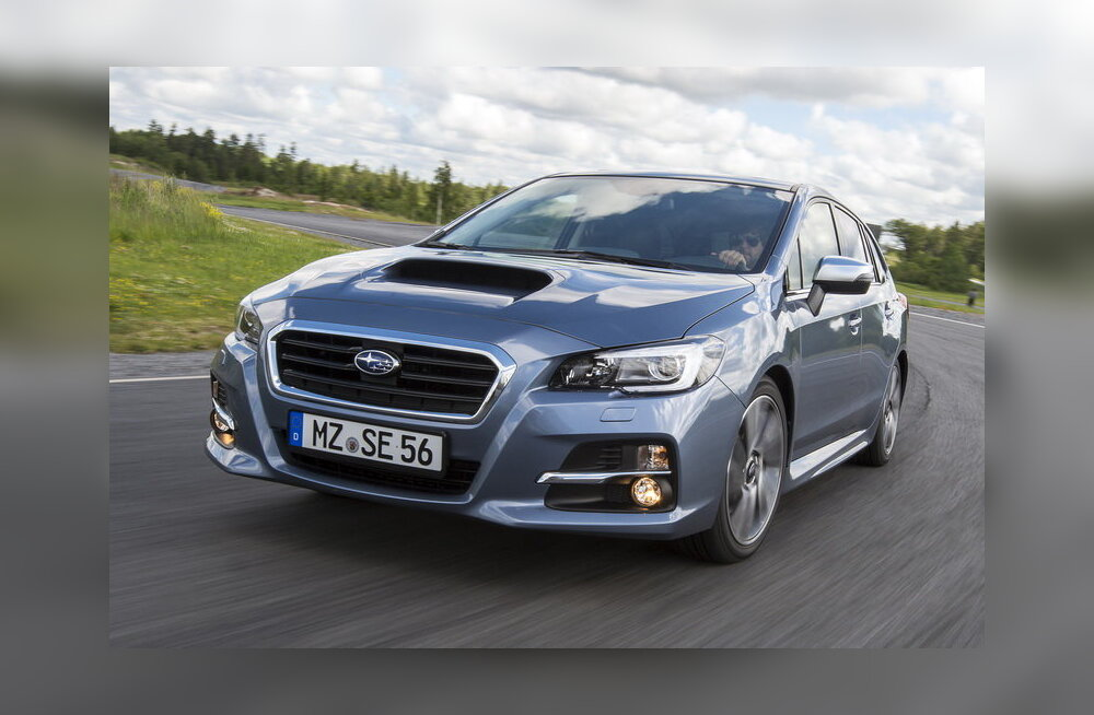 Proovisõit: Subaru Levorg - filmikoletise nimega sportlane?