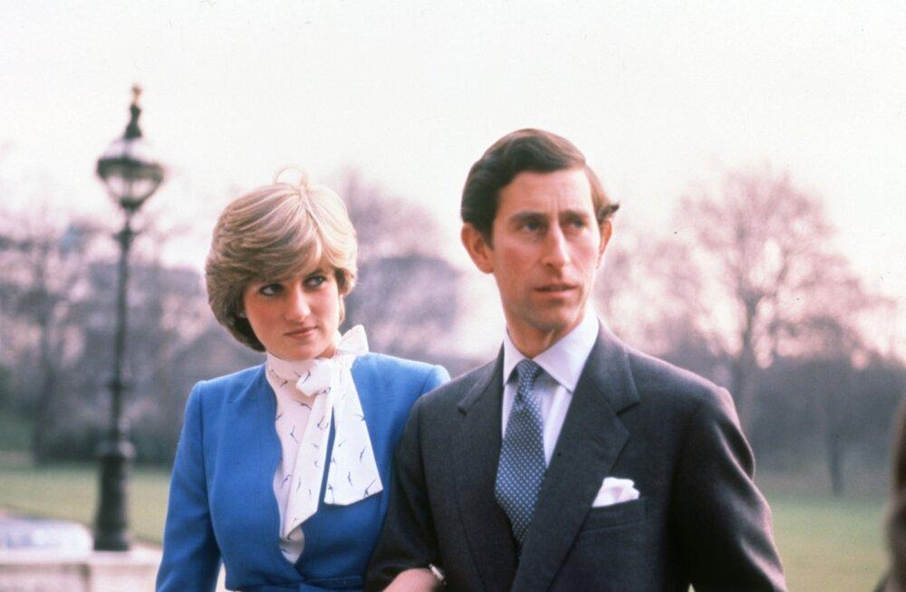 Eriti kiired pulmad: Diana ja Charles olid enne abiellumist kohtunud vaid käputäis kordi