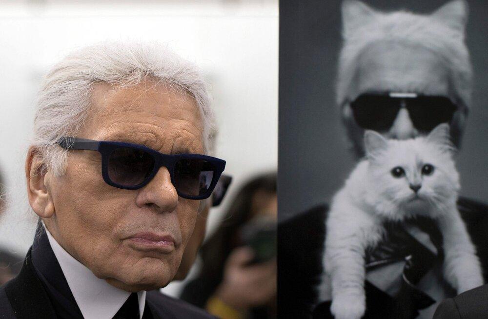 FOTOD | Mine või kadedusest roheliseks! Surnud moekeiser Karl Lagerfeldi hiigelvaranduse võib pärida tema armastatud kass