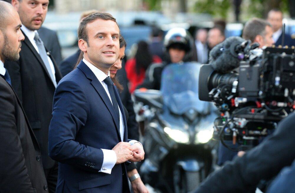 Первый день президента Франции Макрона: Германия, Меркель, ЕС