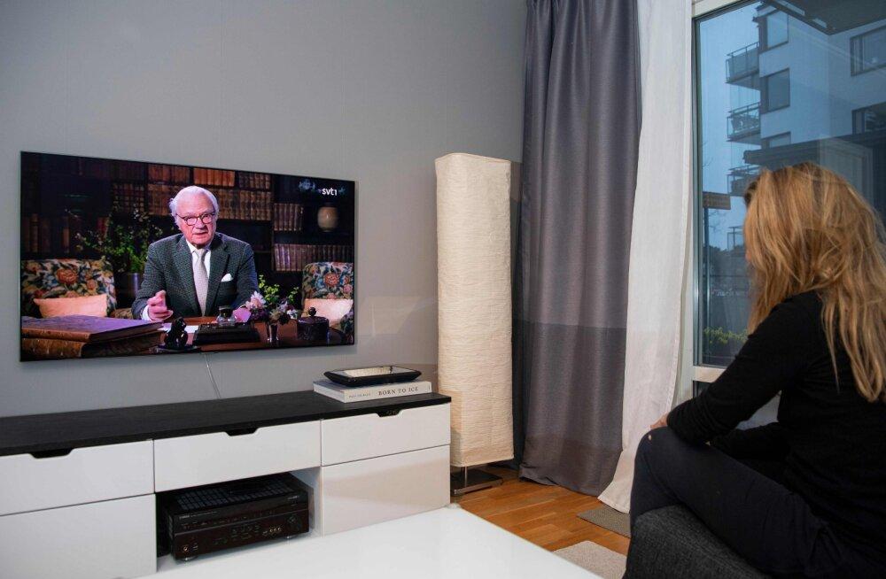 Rootsi kuningas kutsus vastutustundlikkusele ja isetusele, enne seda oli peaminister hoiatanud tuhandete surmade eest