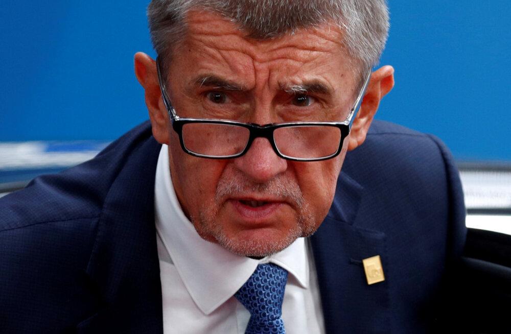 Tšehhi peaministri visiit Eestisse jääb haiglatulistamise pärast ära