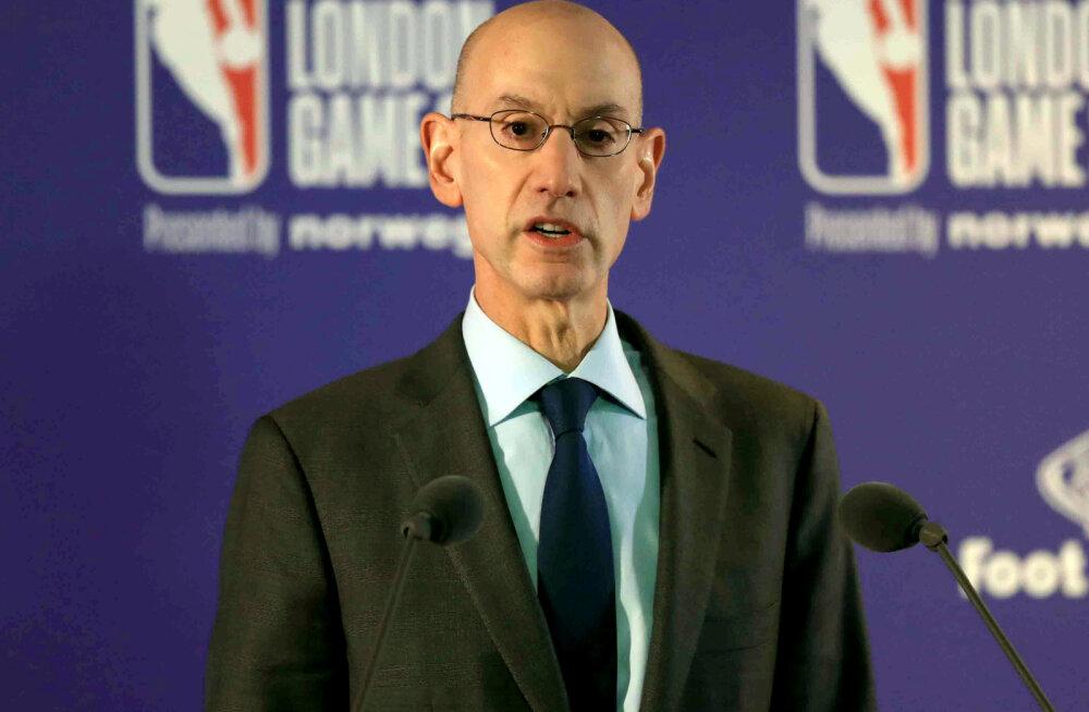 NBA juht: enne maikuud ei tehta hooaja osas ühtegi otsust
