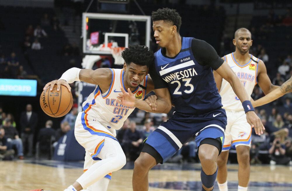 VIDEO | Noor tagamängija ületas NBA-s enam kui pool sajandit kestnud tippmargi