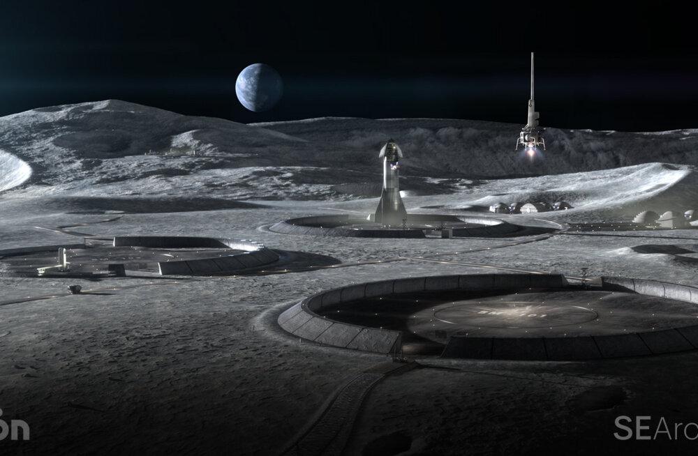 Архитекторы совместно с NASA показали здания, которые могут быть построены на Луне
