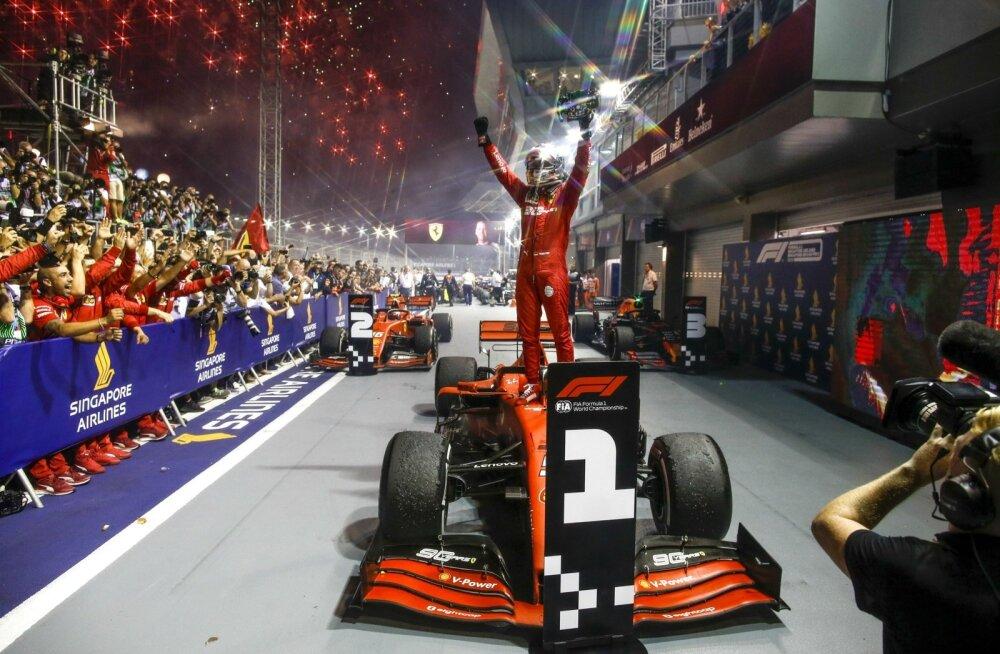Sebastian Vettel sai üle pika aja võidurõõmu nautida.