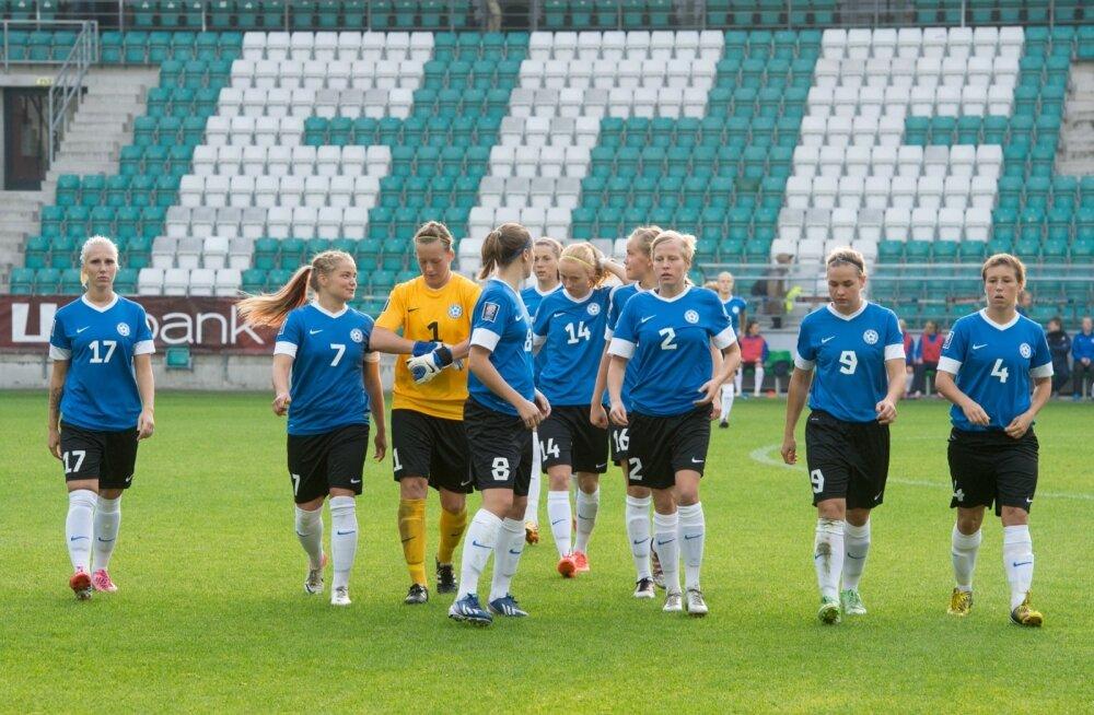 Naiste jalgpall - Eesti vs Itaalia