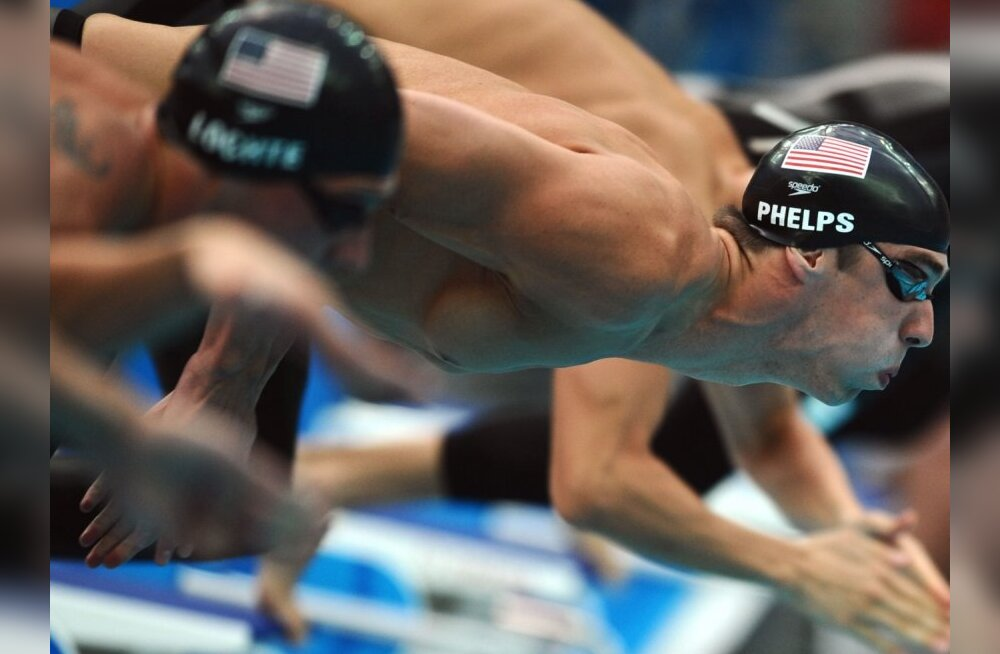 Michael Phelps ujus Berliinis neli hooaja tippmarki