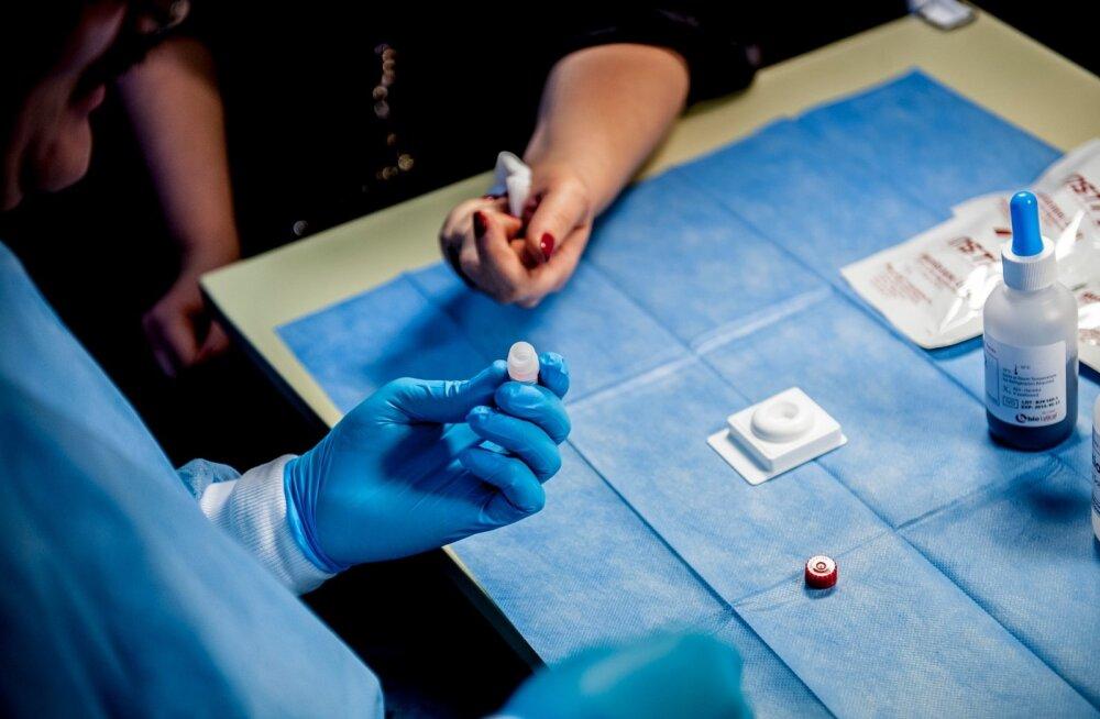 HIV-Testimine ning koolitus riigikogus