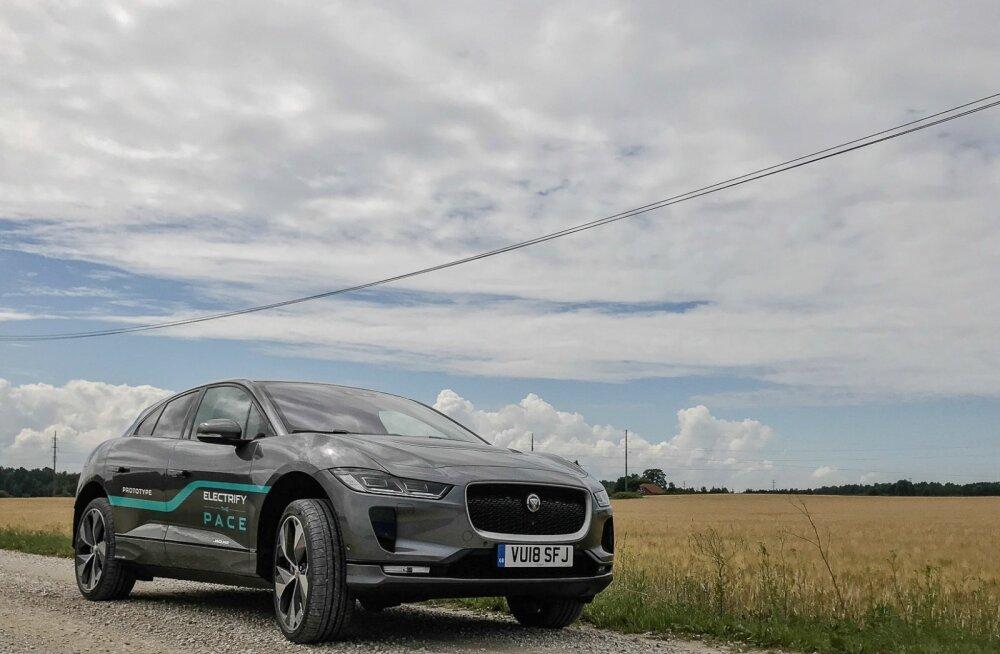 Pilk peale, käsi külge: Jaguari elektriauto I-Pace, ühe argumendiga konkurentidest ees