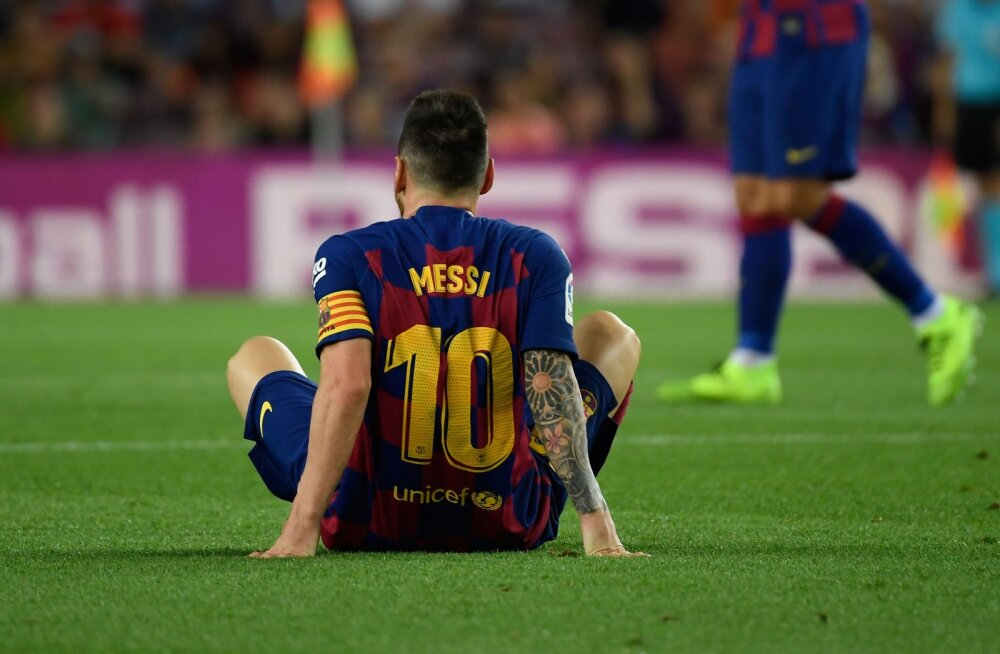 Barcelona võttis napi võidu, ent Messi sai taas vigastada
