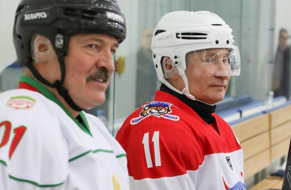 Alexander Lukashenko ja Vladimir Putin