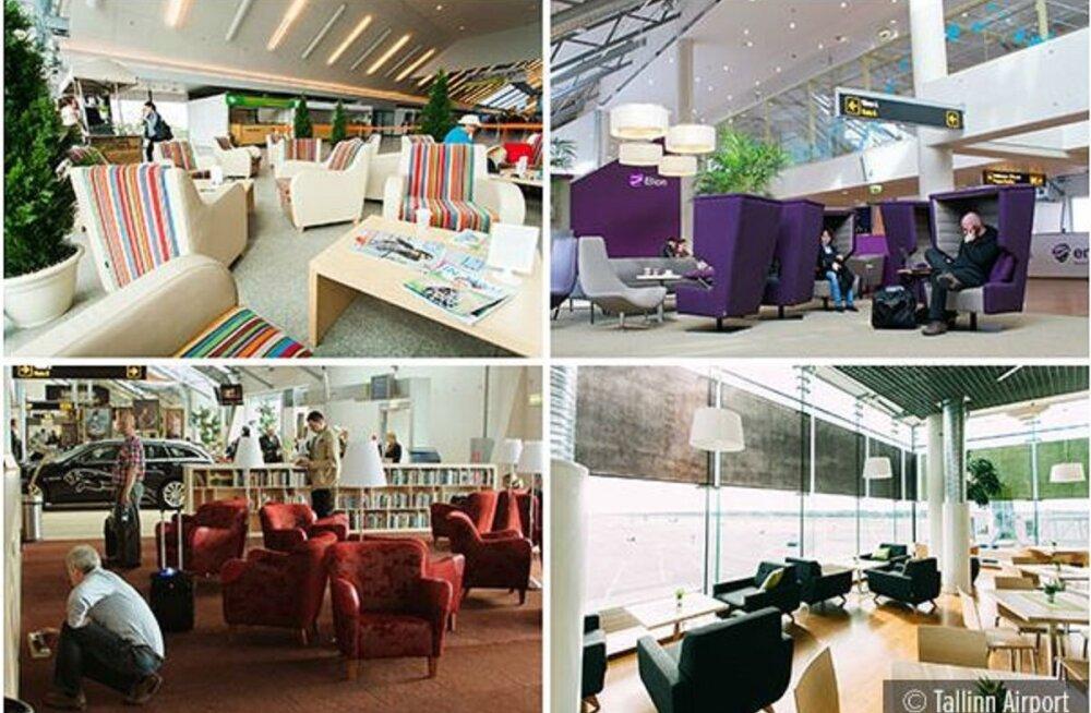 Таллиннский аэропорт - один из лучших в Европе: уютный и удобный для сна!