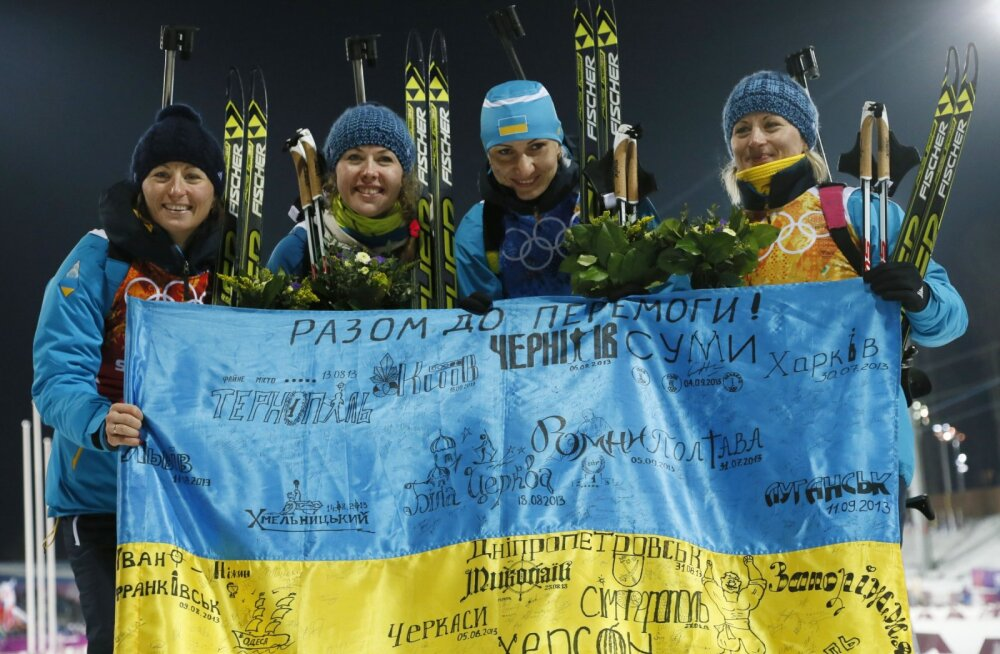 Ukraina valitsus keelab oma sportlastel Venemaal võistelda
