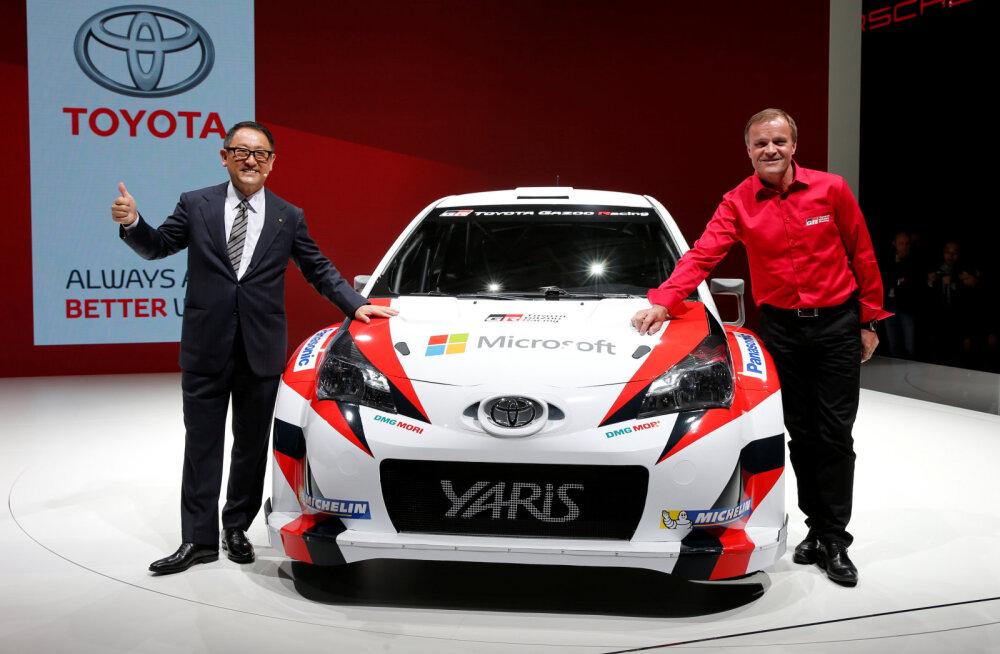 Toyota president: lõpuks võitsime Mehhikos, aitäh Sebastien ja Julien!