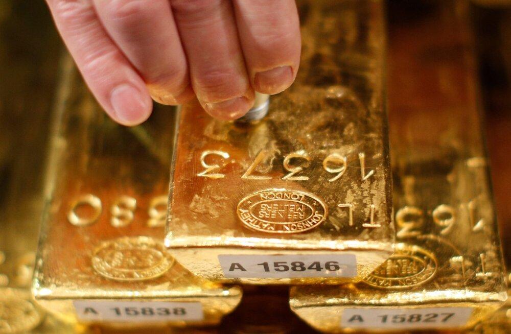 Eesti Panga kullavaru pole 1990-ndate algusest saadik muutunud. Meil on kulda endiselt umbes 260 kilo. Pilt on illustreeriv.