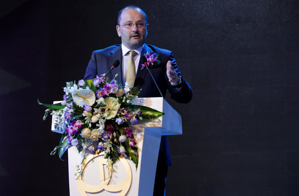 Suri FIBA peasekretär Patrick Baumann
