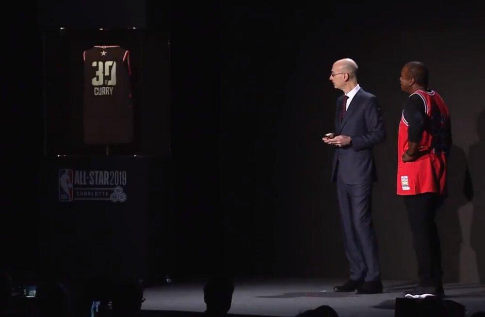 VIDEO | Spordiliiga NBA näitas nutisärki, mille numbrit ja nime saab äpist muuta