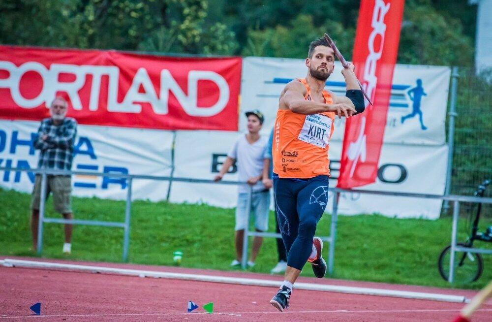 Magnus Kirt on meistrivõistluste peamine tõmbenumber.