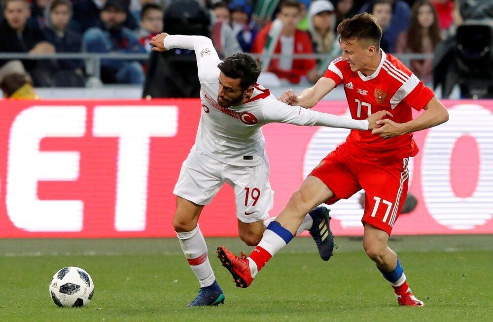 Jalgpall Venemaa vs Türgi